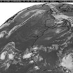 Formación de un huracán en el océano Atlántico. Fotografía realizada por Vistaspain