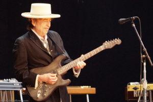 Bob Dylan en el Azkena Rock Festival, en 2010. Fotografía realizada por Dena Flows.