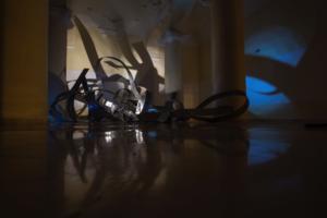 El espacio del museo integra las esculturas. Fotografía propia.