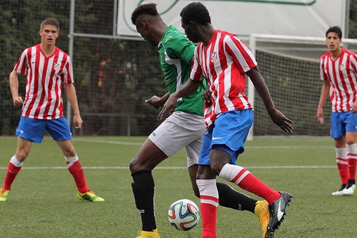Fede Obama es una de las futuras estrellas del fútbol mundial. Autor: AD Alcobendas FC