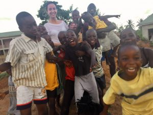 Niños del orfanato United Hearts of Ghana