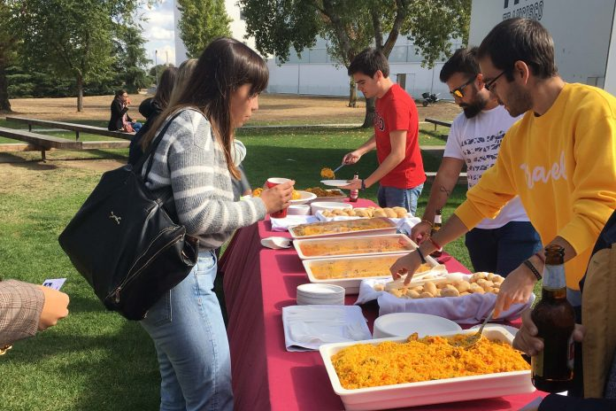 Paella solidaria UFV