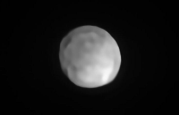 Imagen del nuevo planeta enano, Higía