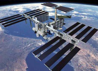 La Estación Espacial Internacional (ISS en inglés). Foto: NASA.