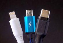 Cables Lightning, microUSB, USB-C
