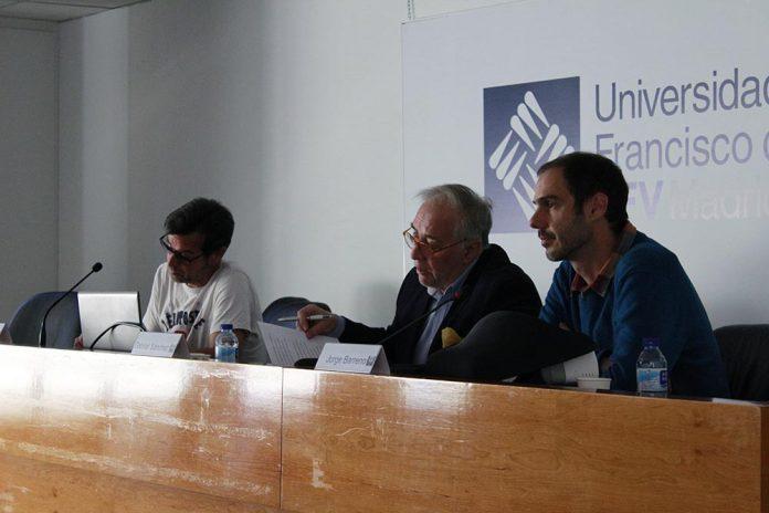 Roger Persiva, Gabriel Sánchez y Jorge Barreno.
