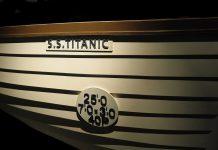 Uno de los 16 botes salvavidas del Titanic.