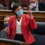 Isabel Celaá durante su comparecencia en el Congreso. Foto: Flickr