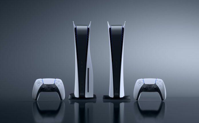 Los dos modelos de PS5, la edición estándar y la digital