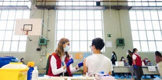 Vacunación en universidades